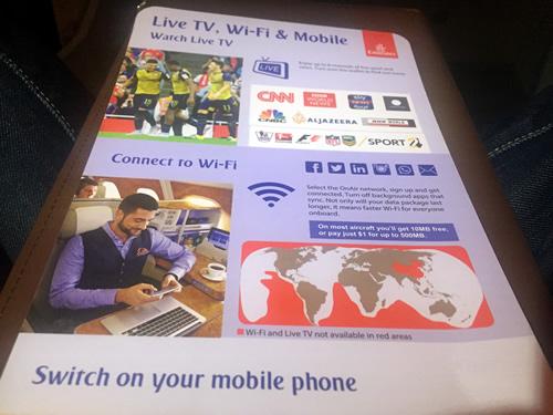 機内Wi-Fi