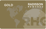Radisson Hotel Group「Radisson Rewards」Goldエリートステータス