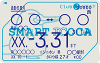 SMART ICOCA定期券