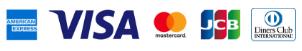アメックス VISA MasterCard JCB ダイナースクラブ