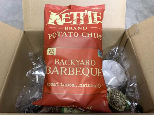 Kettle Foods, ポテトチップス、バックヤードバーベキュー、141g(5oz)