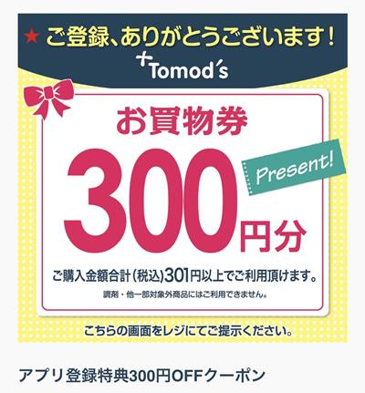お買物券300円分