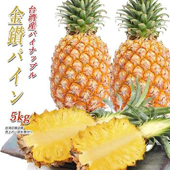 パイナップル 台湾産 金鑽パイン 5kg