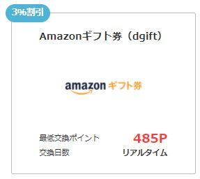 Amazonギフト券(dgift)