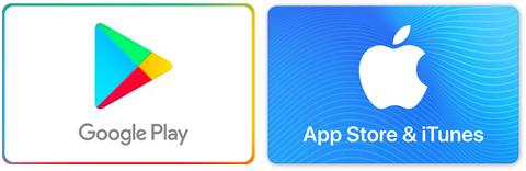 Google Playカード App Store & iTunesカード
